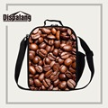 Dispalang insulated school lunch box chocolate fruit print reusable lunch coolers for adults lunch tote picnic bag with handle