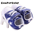 First Walker Toddler Shoes Baby Shoes Boys Girls Canvas Star Pattern Anti-Slip Infant Soft Sole YEW334
