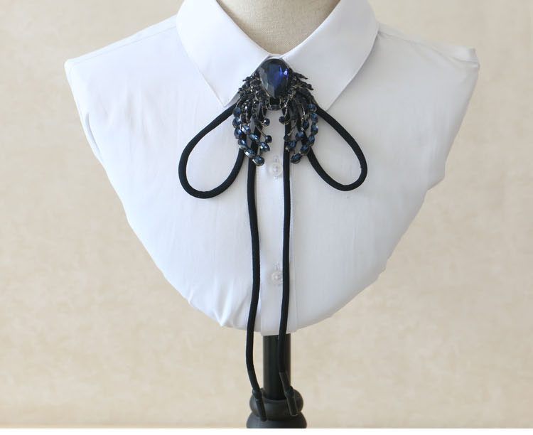 Black Octopus Skinny Scarf Girls Necktie//Sash Tie//Headdress