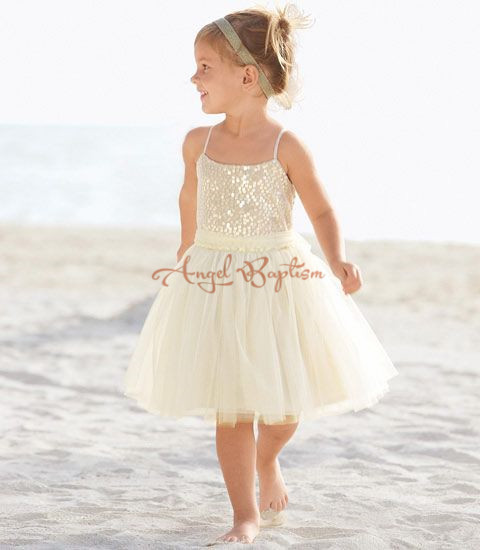 2016 Ivory Bling Sequin the  First Communion Dresses Flower Girl dresses junior kid glitz pageant dress for wedding and party 2016 lace flower girl dresses 1 12 junior kid glitz years ball gowns the first communion dresses for girls pageant dresses