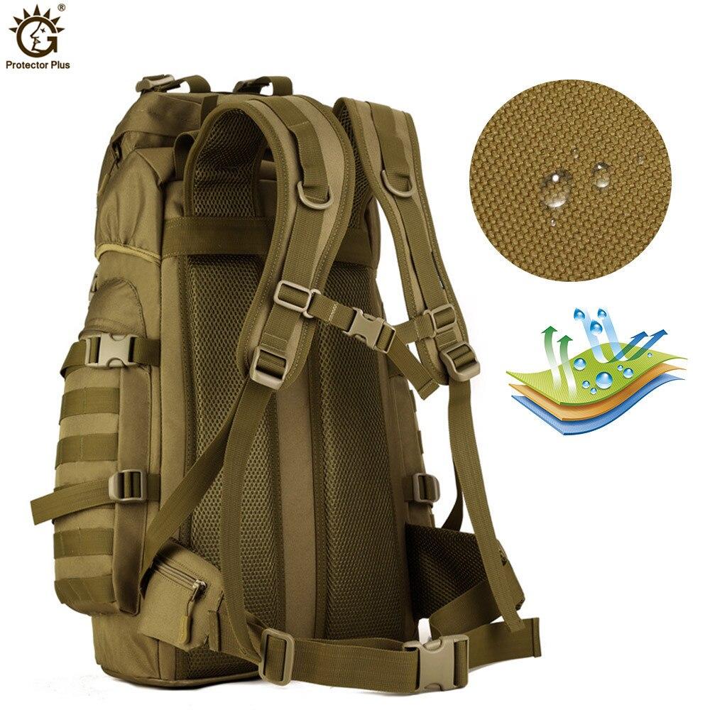 60L sac à dos de grande capacité en plein air tactique Molle armée sac à dos hommes militaire sac à dos escalade Sport sac de voyage Mochila - 4