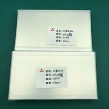 Jalan 50pcs 250um OCA דבק עבור Huawei mate 10/20 לייט oca דבק מגע מסך זכוכית עדשת למינציה להשתמש עבור מיצובישי סרט