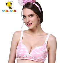 c58b0312b8b24 Wua Wua Maternity Nursing Bra Cotton Moms Underwear Feeding Costumes for Pregnant  Women Sleep Bra reggiseno