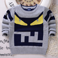 Fashion Design Children Sweater New Winter Carton Sweater Thickened Cotton Sweaters In Children's Clothing Factory Wholesale