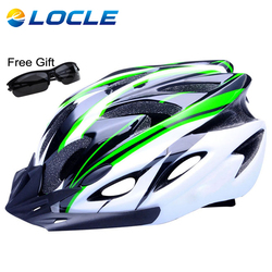 Locle ultralight bicycle helmet ce certification cycling helmet in mold bike helmet casco ciclismo 260g 56.jpg 250x250