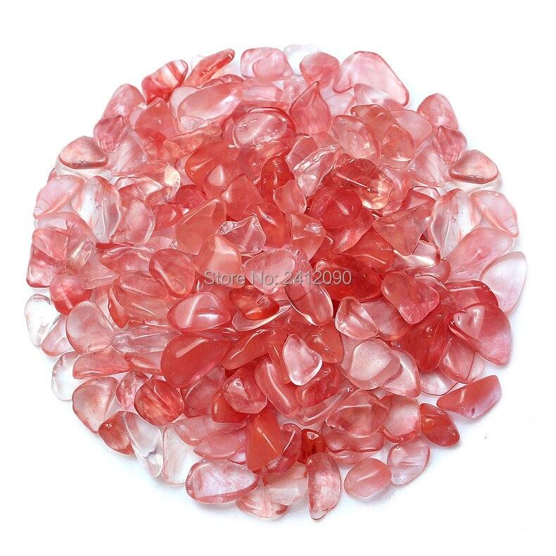 Us 1448 16 Offnaturalny Różowy Szkło Kamień Dekoracyjne Szklane Marmurowe Kamyczki 250g Szklane Koraliki Do Wazon Fish Tank Akwarium Dekoracji