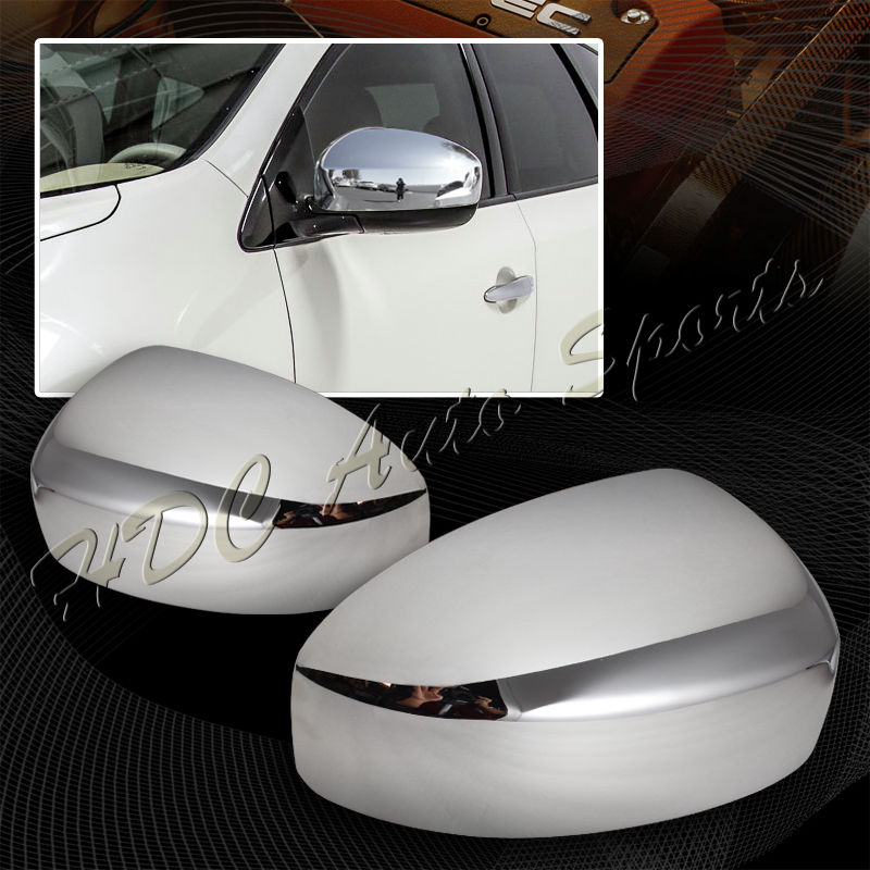 XYIVYG For Nissan Murano Pathfinder Infiniti FX35 EX37 Chrome ABS Side Mirror Cover Cap