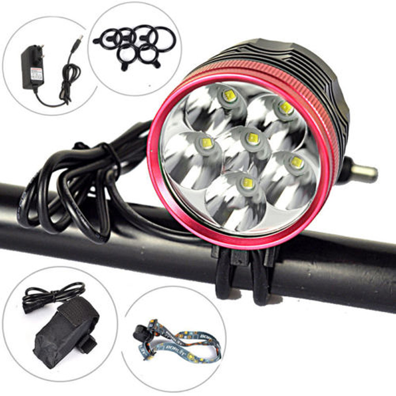 9000Lm 6X XML T6 LED Head Front Bicycle Bike light Lamp Headlamp+6400mAh+Charger sitemap 37 xml