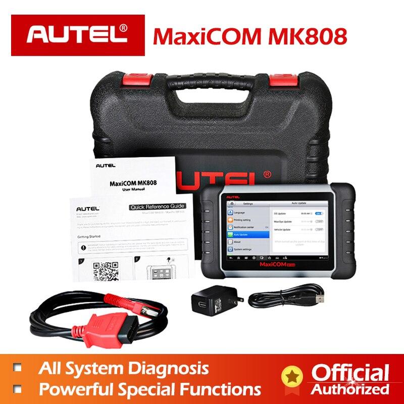 Autel MaxiCOM MK808 Automobile De Diagnostic Scanner avec IMMO/EPB/SAS/BMS/TPMS/DPF Service Code lecteur pour la programmation principale