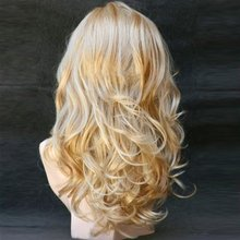 Long Wavy Natrual Synthetic Hair Wigs