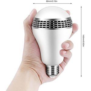 Image 5 - Bluetooth Altoparlante Intelligente Luce E27 LED Bianco + RGB Lampadina Lampada variopinta Musica Audio APP Telecomando o sul Telecomando altoparlante
