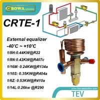 CRTE 1 0.53KW (R410a) TEV with solder connection is designed for beverage or bottle cooler and other refrigeration equipments|cooler cooler|cooler equipmentcooler bottle -