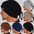 Мужчины Стильный Шапочка Багги Громоздкая Сумка Череп Cap Hat Кольцо Тонкий Зима Осень Шляпы HATLZ0010