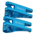 Mxfans 2xRed RC1:10 Front Shock Suspension Arm forTRAXXAS E-REVO Largefoot Car