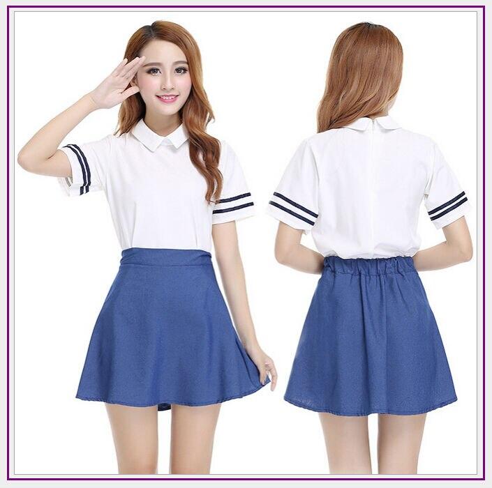 Japanese sailor suit Anime cosplay halloween costume ,Girls High school  student uniform ,JK uniform