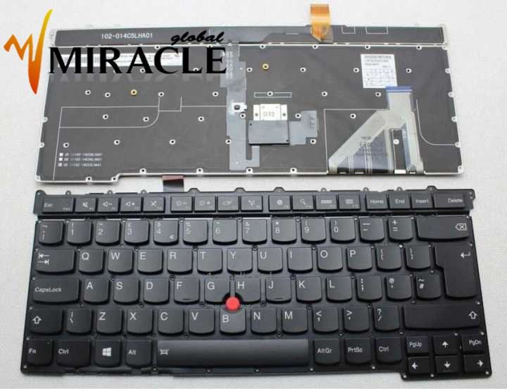 Repair You Life Laptop Keyboard For Lenovo For IBM X1 Carbon Gen 3 3rd 2015 UK  Version With Backlit 100% New And Original