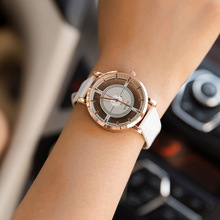 цены BGG brand New Hollow women's Luxury Creative watch women leather casual Watch ladies dress Quartz Wristwatch female clock hours