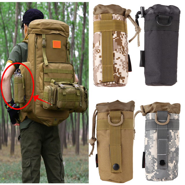À En 1L Bouteille Plein Poche Portable 18 5 Dos Camo Air cm Sac EgqqAwP