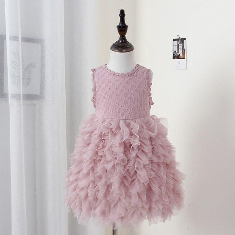 e60498e10f74 Toddler girl Unicorn dress baby girl carnival party dress children39s