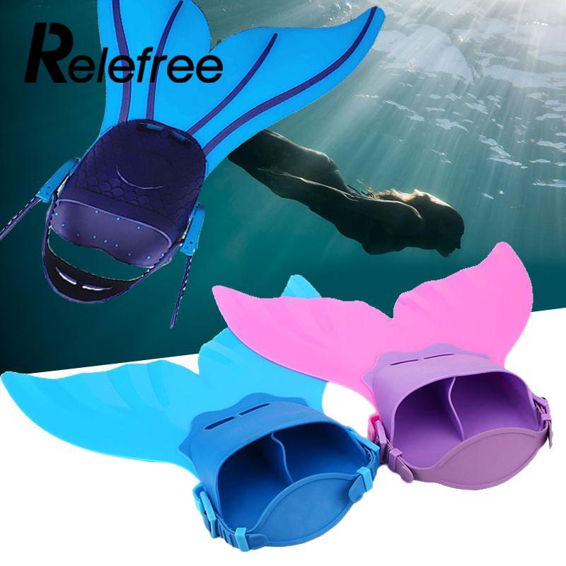 Kid Kinder Schwimmen Flossen Meerjungfrau Schwimmflosse Tauchen Monofin Schwimmen Fuß Flipper Trainingsschuhe Schwanz Tauchen Füße Schwanz Monofin