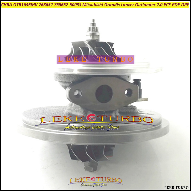Turbo Cartridge CHRA <font><b>GT1752V</b></font> 753546 753546-5023S 753546-0014 6G9Q6K682CA For Land-Rover Freelander II 2.2L DW12B PSA 2007- 160HP image