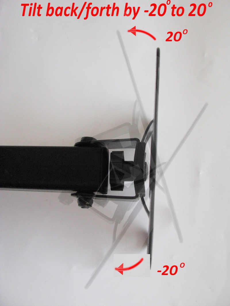 """(RU) شحن مجاني LCD-111 LCD-112 10 """"24"""" 30 """"37"""" tiltable كامل motion قابل للسحب قطب LED البلازما التلفزيون جدار vesa قوس جبل"""