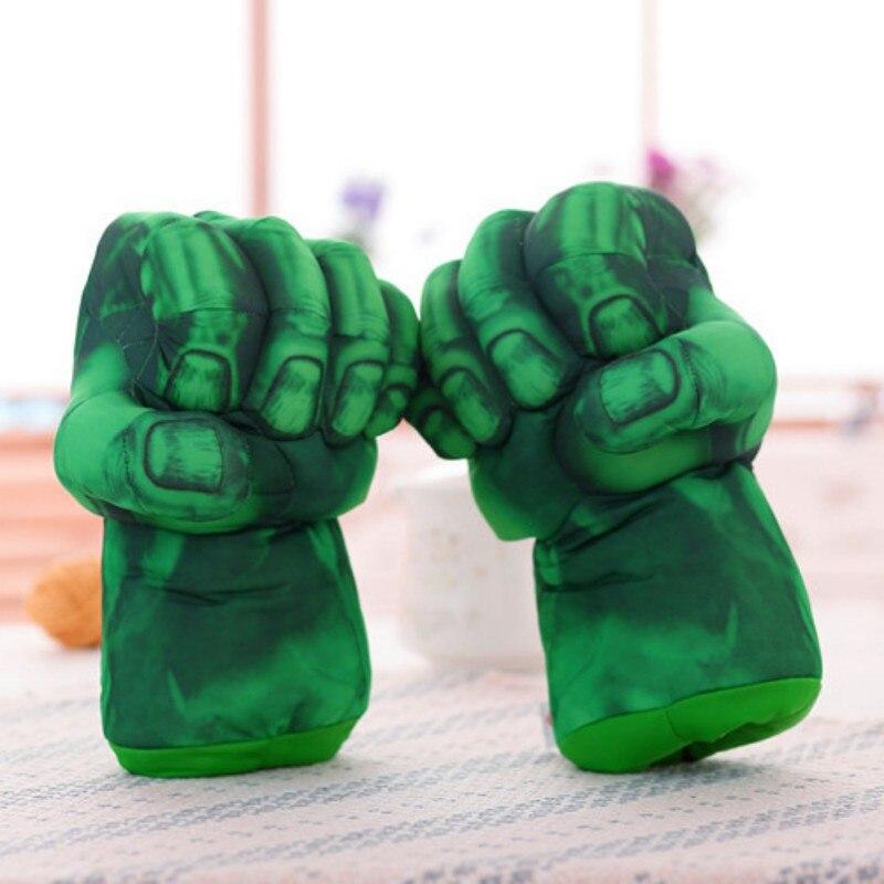 Festa festival decoração diy algodão de pelúcia hulk luvas super-herói cosplay brinquedos presentes crianças dia das bruxas natal crianças suprimentos