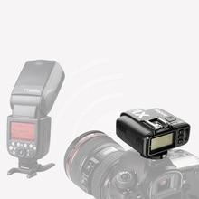 Godox ערכת X1 TTL פלאש טריגר משדר אלחוטי 2.4 גרם & מקלט עבור Canon לניקון עבור Sony godoxTT685 V860 פלאש speedlite