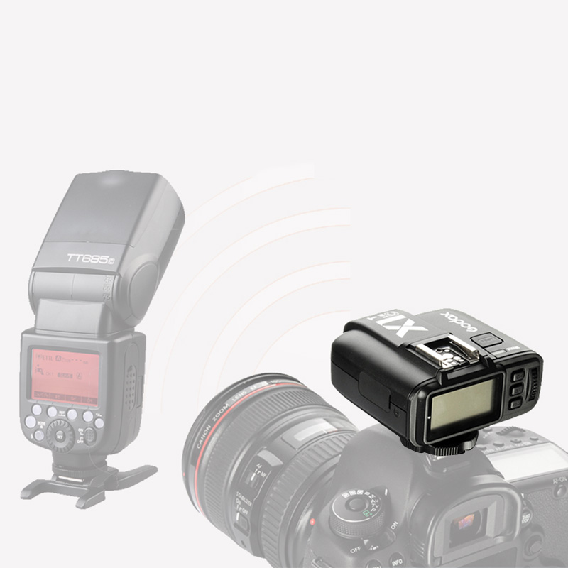 Godox X1 kit TTL 2.4G Wireless Flash Trigger Transmitter & Receiver For Canon for Nikon for Sony godoxTT685 V860 Flash speedliteGodox X1 kit TTL 2.4G Wireless Flash Trigger Transmitter & Receiver For Canon for Nikon for Sony godoxTT685 V860 Flash speedlite