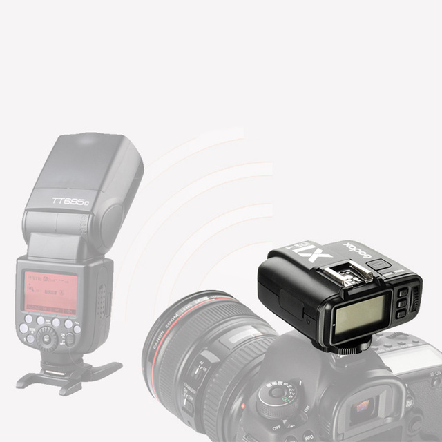 Godox X1 kit TTL 2.4G Wireless Flash Trigger Zender & ontvanger Voor Canon Nikon Sony voor godoxTT685 V860 Flash speedlite