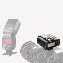 Godox x1 kit ttl 2.4g sem fio flash gatilho transmissor & receptor para canon para nikon para sony godoxtt685 v860 flash speedlite