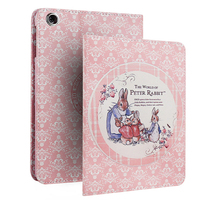 For IPad Pro 12 9 Case Cartoon Peter Rabbit Ultra Slim PC Back Smart Case For