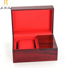 2016 Hot Rosewood Watch Box Jewelry Watch Display Luxury Box Storage Top Quality Gift Wood Box Packing Xmas Watch Accessories