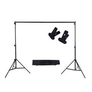 Image 2 - 2*3 M/6.6 * 9.8ft Ảnh Nền Hỗ Trợ Chân Đế Có Thể Điều Chỉnh Lưng Photograpy Nền Cho Studio Ảnh Phông Nền xà Ngang