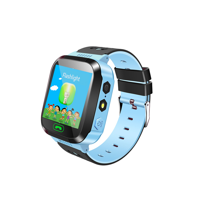 Q528 GPS Smart Watch With Camera Flashlight Baby Watch SOS Call LBS Location sim card for kid child