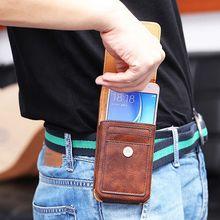 Case For Sony Xperia XZ3 / XA2 Plus Universal Man Waist Bag Case With Clip Belt For Sony Xperia XZ3 / XA2 Plus Phone Case