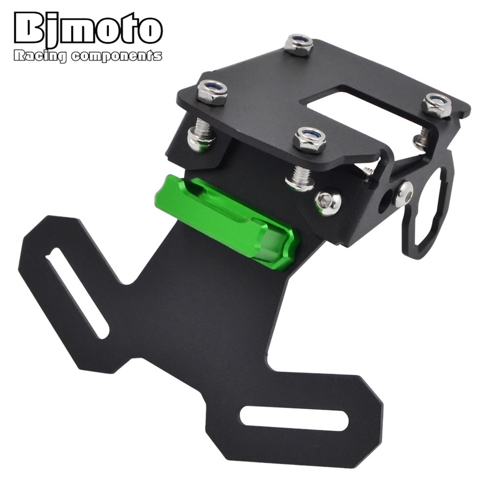 BJMOTO Motorcycle Accessories Fender Eliminator License Plate Bracket Ho Tidy Tail For Kawasaki Z900 2017BJMOTO Motorcycle Accessories Fender Eliminator License Plate Bracket Ho Tidy Tail For Kawasaki Z900 2017