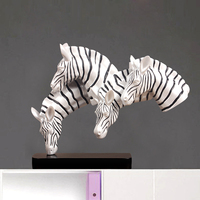 Creative Modern Horse Statue Ornaments Home Furnishing Jewelry Crafts Decoration Study The Living Room TV Cabinet Put Decoration