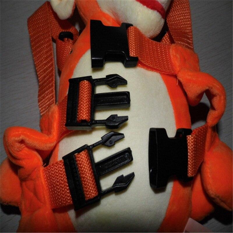 Голдбаг животных 2 в 1 жгут Тигр приятель плюшевая игрушка-Рюкзак Детские ремни безопасности жгут детская школьная сумка