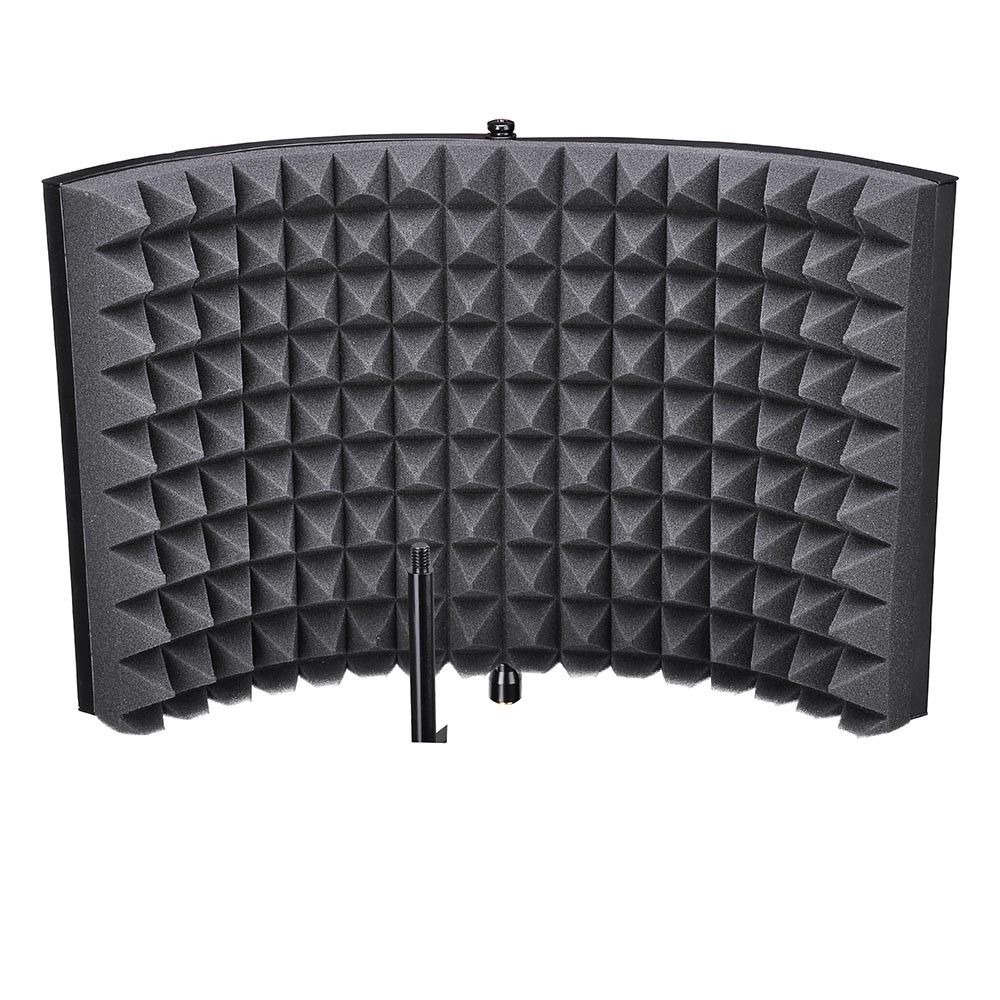 SEWS Studio Microphone Isolation Shield Acoustic Recording Sound Absorber Foam Panel