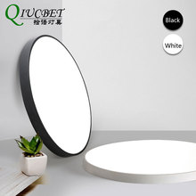 Modern Ceiling Lights in LED Round Light For Living Room Black/White color Dimmable light fixtures