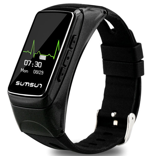 SKF-B7 Smartwatch Heart Rate Checking Pedometer Hand Free Phone Call Answering Wristwatch Bluetooth Smart Watch For IOS Android