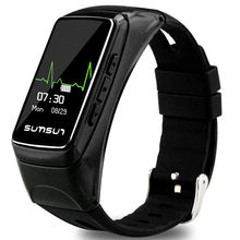 SKF B7 font b Smartwatch b font Heart Rate Checking Pedometer Hand Free Phone Call Answering