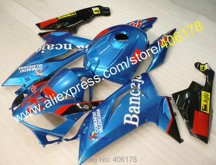 Hot Sales,Aftermarket Parts For Aprilia RS125 06 07 08 09 10 11 RS125 2006-2011 Body Kits RS125 ABS Fairing (Injection molding)