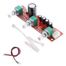 NE5532 Preamplifie пассивная тональная плата регулятор громкости басов 2 канала принимает передний чип NE5532 для лучшей производительности