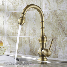 Free Shipping becola high quality kitchen faucet antique bronze sink tap kitchen mixer brass pool faucet HY-669