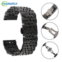HANGRUI Stainless Steel Strap For Samsung Gear S3 Classic Frontier Watch Band Wrist Strap Smart Bracelet