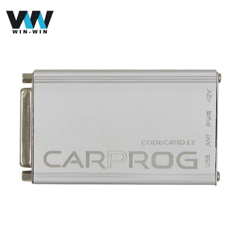Цена за CARPROG V10.05 полный комплект со всеми 21 Товар Адаптеры CARPROG ECU прошивка для сброса подушка безопасности автомобиля-детектор инструмент