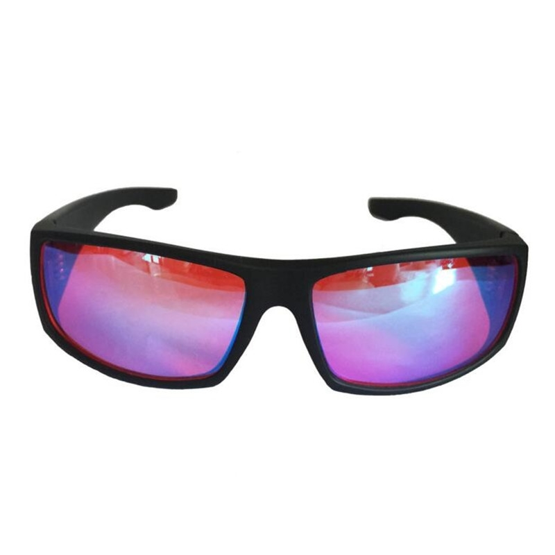 ZXTREE Color Blindness Glasses Correction Women Men Glasses Red Green Blind Card Sunglasses Test driver's license Eyewear Z391