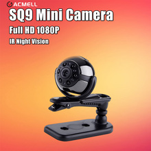 Новая версия SQ8 SQ9 Мини камеры 1080 P 720 P HD Наименьший камеры инфракрасного ночного видения видеокамеры датчик движения Камара Espia
